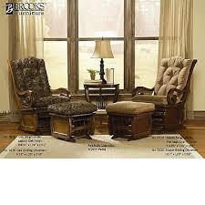 living room glider solid maple sleigh glider rocker glider ottoman heritage cherry