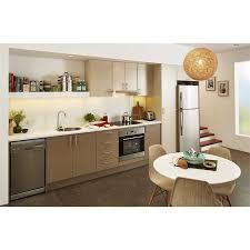 bunnings kitchen cabinets kaboodle chocanilla base and mocha glaze top kitchen
