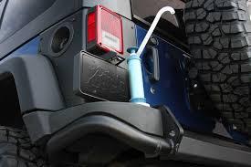 aev jeep rear bumper aev jeep wrangler 07 17 rear bumper water tank kit