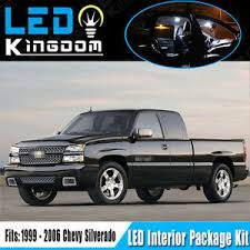 18pcs 99 06 for chevy silverado car interior led light package