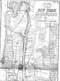 Manhattan New York Map by Old New York Maps Author Gloria Waldron Hukle