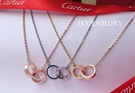 cartier love necklace images Cartier love necklace white gold yellow gold pink gold for sale jpg
