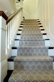 modern stair runners staircase traditional with custom stairs grey