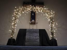 wedding arch lights wedding arch ideas your ceremony arches