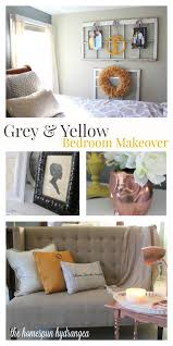 thrifty and yellow bedroom makeover homespun hydrangea