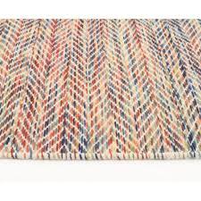 area rugs wool wool flat weave huish herringbone multi coloured floor area rug