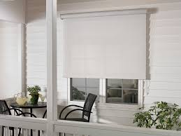 Custom Patio Blinds Exterior Patio Shades Block The Sun Not The View