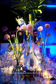 Metal Vases For Centerpieces by A Mod Mitzvah For Dylan At The Four Seasons Hotel Philadelphia