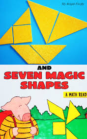tangram activities with three little pigs for preschoolers and up