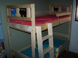 bunk bed for toddlers using ikeau0027s low loft as a bunk bed