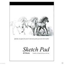 best quality sheets 2 set 9 x 12 inches 40 sheets premium quality sketch book drawing