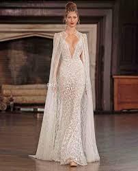 sexiest wedding dress photo wedding dresses with cape 2017 berta bridal