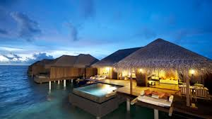modern holidays holiday ocean relax sky pool bungalow cool