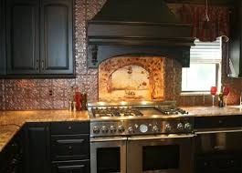kitchen tin backsplash decorating with tin ceiling tiles kitchen tin tiles