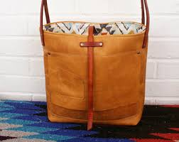 Handmade Leather Tote Bag - leather bag soft leather tote bag leather bag handmade leather