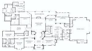 large single story house plans 5 bedroom single story house plans koszi club