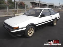 toyota ae86 corolla toyota corolla ae86 jdmauctionwatch