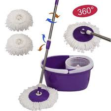 cleaning mophead spinning magic spin mop microfiber rotating heads