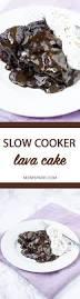 slow cooker crockpot chocolate lava cake recipe mom spark mom