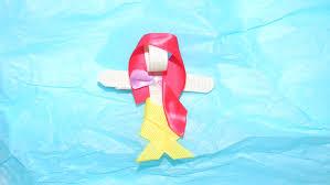 mermaid ribbon mermaid hair clip