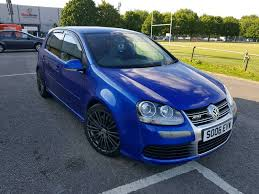 2006 volkswagen golf mk5 r32 manual blue full service history