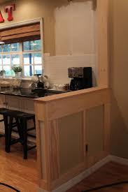 half wall kitchen designs 58 best galley kitchen images on pinterest galley kitchens