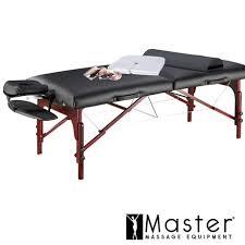 master massage equipment table master massage 31 extra wide montclair pro memory foam portable