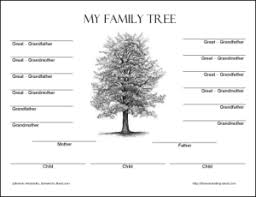 Free Family Tree Templates 20 Formats Exles Guide All Form Family Tree Template