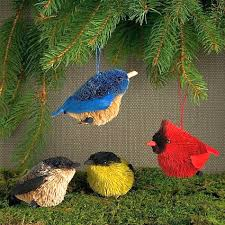 cobane studios blown glass bird ornament collection set of 8