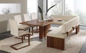 dining room important dining room upholstered bench seating rare