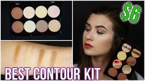 best cheap contour palette for 6 drugstore la colors i