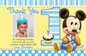 mickey mouse thank you cards mickey mouse 1st birthday thank you cards 20 mickey mouse thank