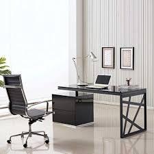 Hideaway Computer Desk Cabinet Discount Office Furniture Glass Work Desk Portable Computer Desk