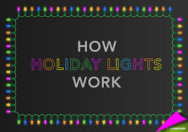 how are led christmas lights wired how do holiday lights work department of energy