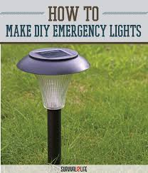 Diy Solar Light by How To Make Emergency Light Source Survival Life