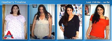 heather lost 210 pounds on atkins most rapid weight loss