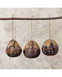 sale dried mate gourd ornaments boarding the ark set