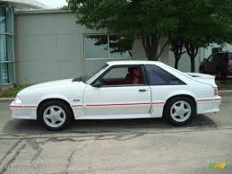 1988 oxford white ford mustang gt fastback 13884879 gtcarlot