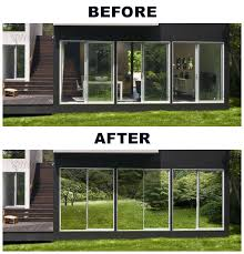 interior window tinting home vvivid 3ft x 2 5ft silver one way mirror static cling window