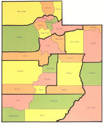 Map Of Utah Counties by Group Project Ut Counties