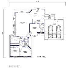 plan maison etage 3 chambres plan maison etage 2 chambres plan gratuit maison 2 chambres 70m2