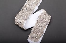 Wedding Dress Sashes Dress Sash Belt Add Simple Beauty To Your Dress With This Sash