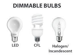 common light bulb types what are light dimmers and which type of light bulbs are dimmable