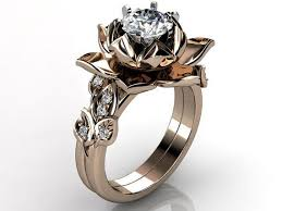 lotus engagement ring best 25 lotus flower engagement ring ideas on