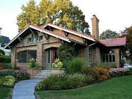 Craftman Style Home Design Brick Craftsman Style Homes Lawn Architects The Most