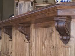 how to install kitchen island how to install corbels and brackets