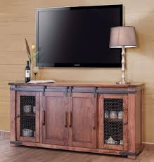 tv stand glass doors tv stands tv stand crosley stand48 with fireplace inch walnut