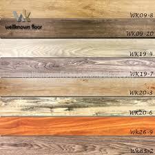 Cheap Vinyl Plank Flooring 6 Mm Click Lock Commercial Wooden Lvt Pvc Vinyl Flooring Cheap