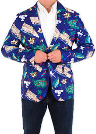 men u0027s christmas vacation griswoldacious suit coat in navy