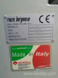 Used Woodworking Machinery For Sale Italy by Used Renzo Borgonovo Stampatrice 2010 Tools U0026 Auxiliaries Other